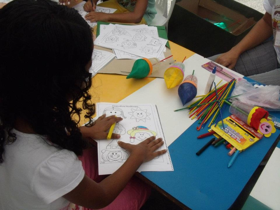 Lar Rejane Marques, promoting art, education and health for children with mental or physical disabilities.